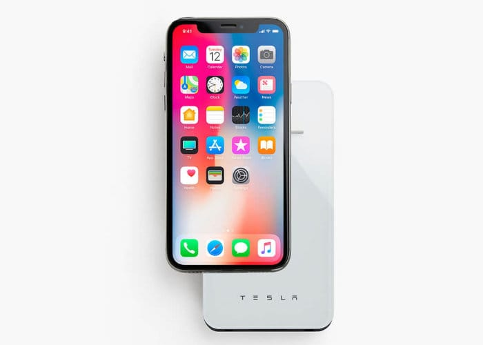 Tesla Smartphone Wireless Charger