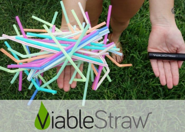 ViableStraw Reusable Drinking Straw