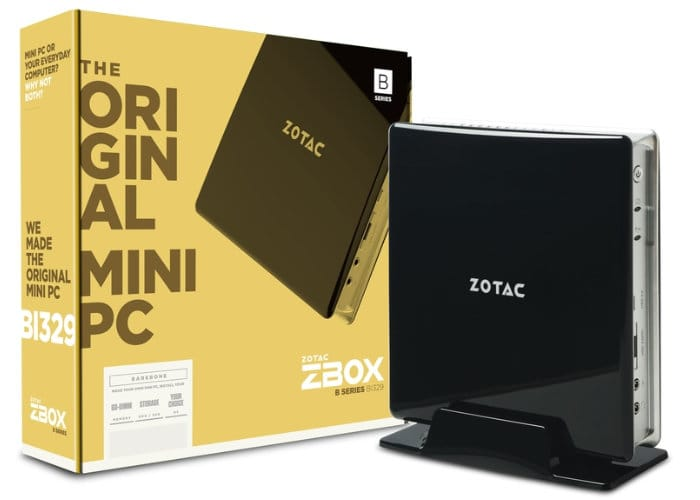 Zotac BI329 Intel Gemini Lake Mini PC