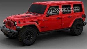 Jeep Wrangler JL Moab Edition Order Guide Leaks