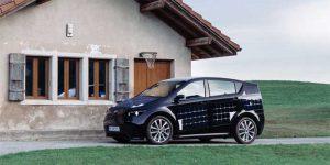 Sono Motors Sion EV has Solar Panels on Body