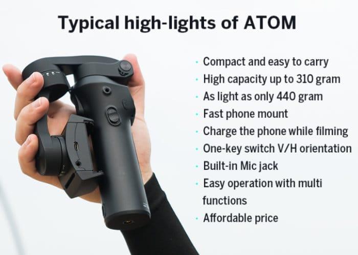 ATOM Pocket Smartphone Gimbal