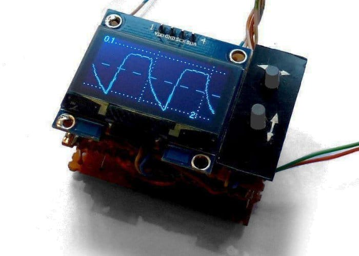 ArdOsc Mini Arduino Oscilloscope Project