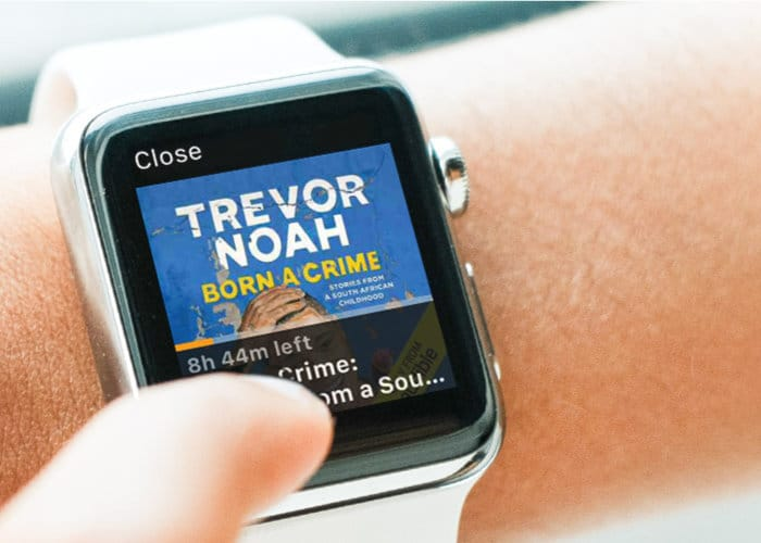 Audible Apple Watch app