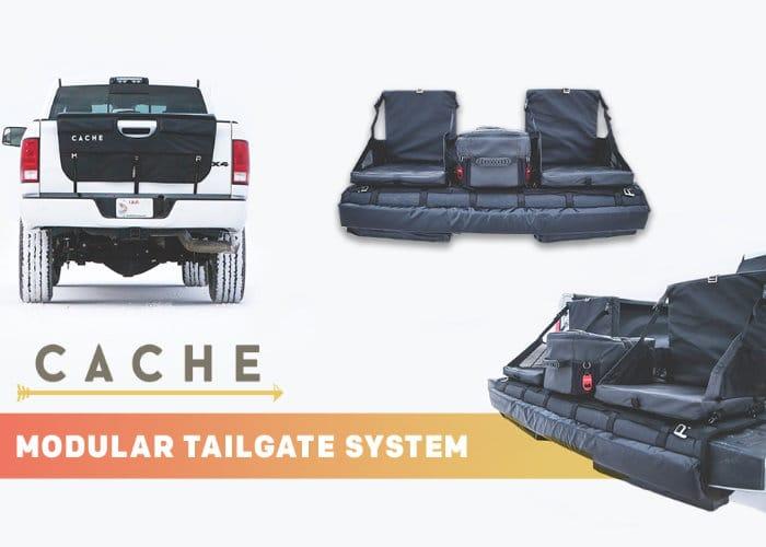 Basecamp modular tailgate system