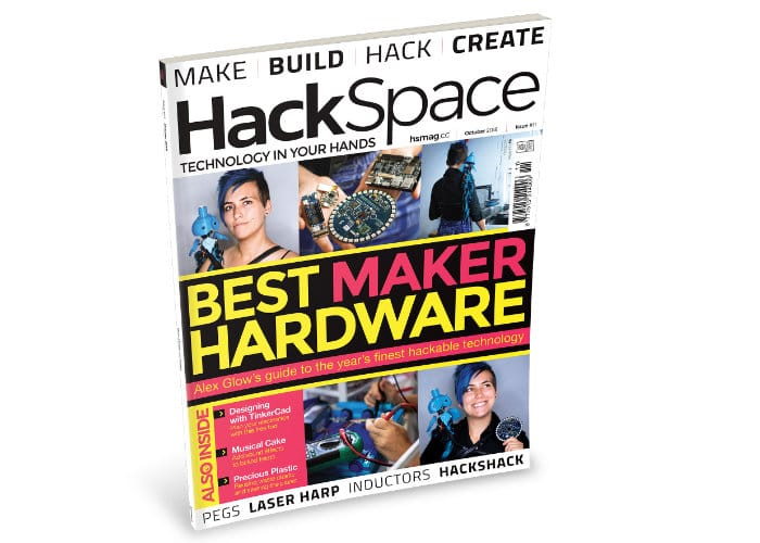 Hackspace Magazine Features Best Maker Hardware