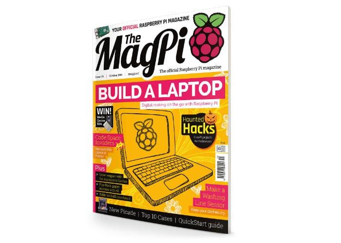 Build a Raspberry Pi laptop