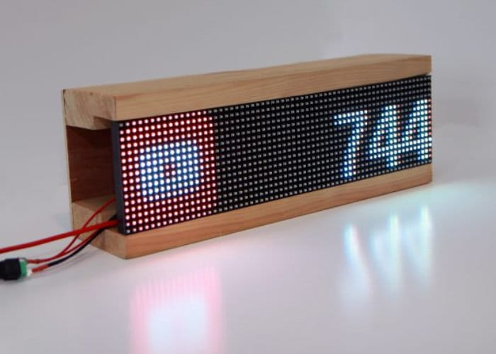 DIY Raspberry Pi Desktop Social Media Counter