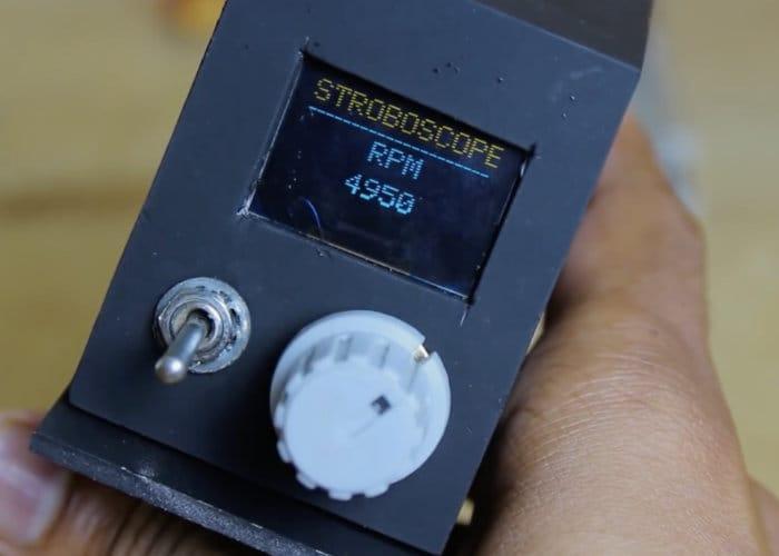 DIY Stroboscope Arduino Project