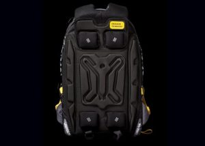 EUME Backpack With Built-in Back Massager