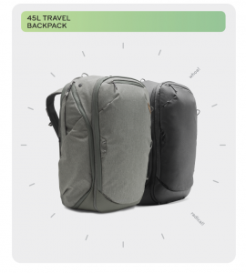 Peak Design Travel Line Backpack Range Passes $4.4 Million On Kickstarter