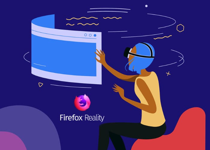 Firefox Reality VR Browser