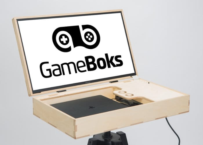 GameBoks portable gaming console case