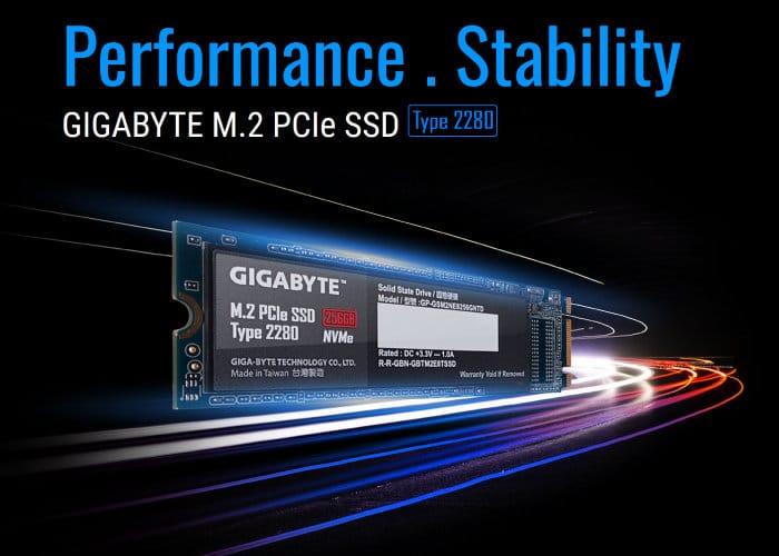 Gigabyte NVMe M.2 SSD