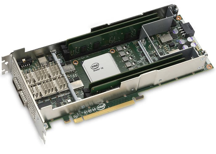 Intel FPGA programmable acceleration cards