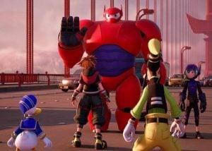 Kingdom Hearts III Extended Big Hero 6 Trailer