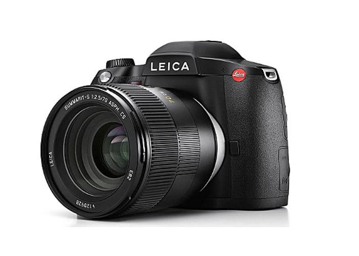 Leica S3 medium format 64 megapixel camera
