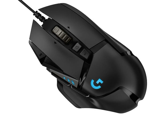 Logitech Upgrades G502 Gaming Mouse