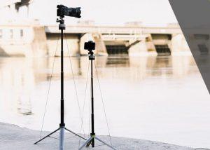 Lumapod Lightweight, Compact Fast Setup Camera Tripod