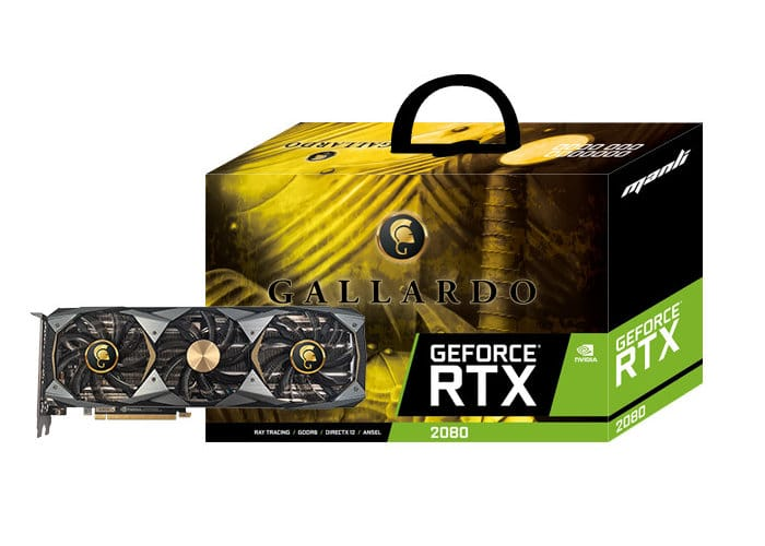 Manli GeForce RTX 2080 ti