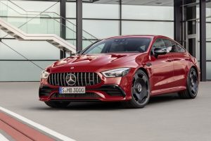 Mercedes AMG GT 43 4Matic 4 Door Coupe Launched
