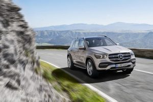 Mercedes Benz GLE Shown Off On Video