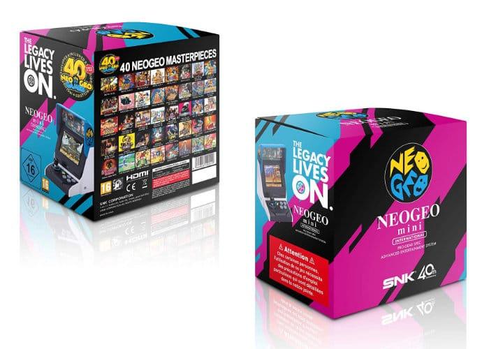 Neo Geo Mini Arcade Console