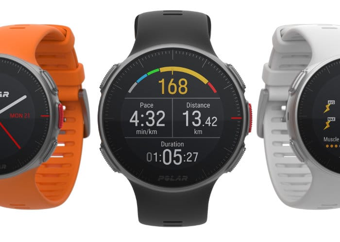 New Polar Vantage M And V Fitness Smartwatches