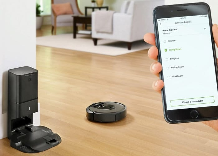New Roomba Robot Vacuum Automatically Empties Waste