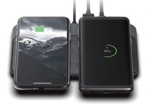 Nomad Base Station dual smartphone wireless charger