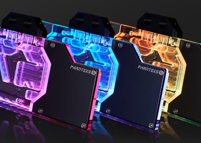 Phanteks Glacier NVIDIA RTX Water Blocks Introduced