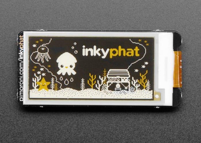 Pimoroni Inky pHAT 3 Colour eInk Display