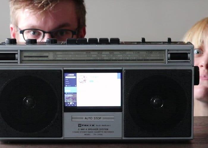 Raspberry Pi BoxBoom music player project