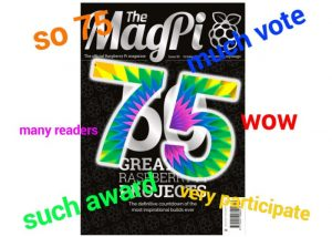 Vote For your Best Raspberry Pi Projects For MagPi 75 Issue