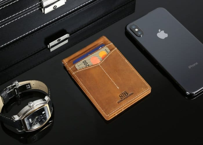 Slim RFID Blocking Wallet