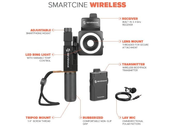 SmartCine Smartphone Video Kit