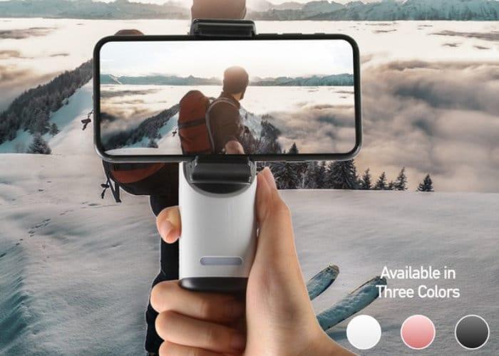 Smartphone pocket video stabiliser