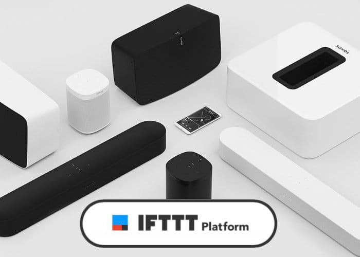 Sonos Speakers Now Support IFTTT
