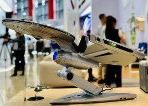 Star Trek-inspired Titanium Enterprise PC created by Lenovo