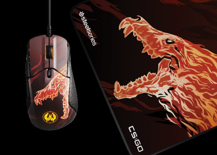67a0ed8a927 SteelSeries limited-edition CS:GO Howl gaming mouse - Geeky Gadgets