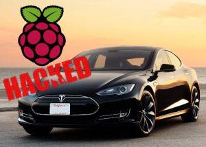 Tesla Model S Hacked By Raspberry Pi Mini PC