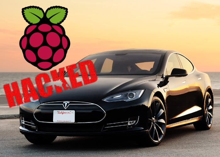Tesla Model S Hacked By Raspberry Pi Mini PC