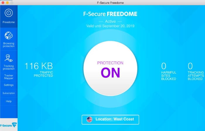 F-Secure TOTAL VPN