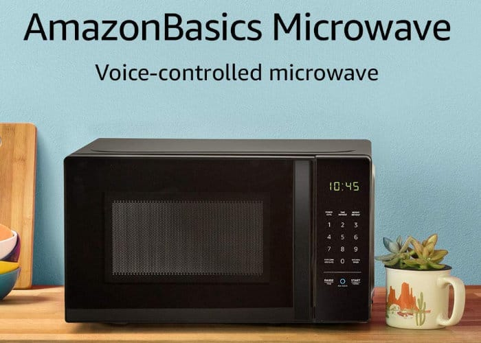 Voice controlled Amazon Alexa Microwave