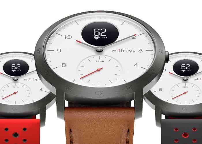 Withings Steel HR Sport Smartwatch