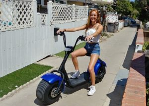 Bel Air Wide Wheel Electric Scooters