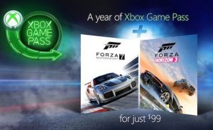 Microsoft Forza Bundle With Xbox Game Pass For $99