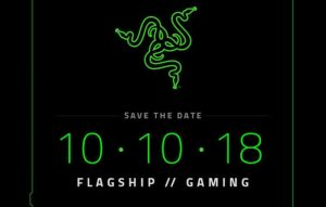 Razer Unveiling New Smartphone On October 10th