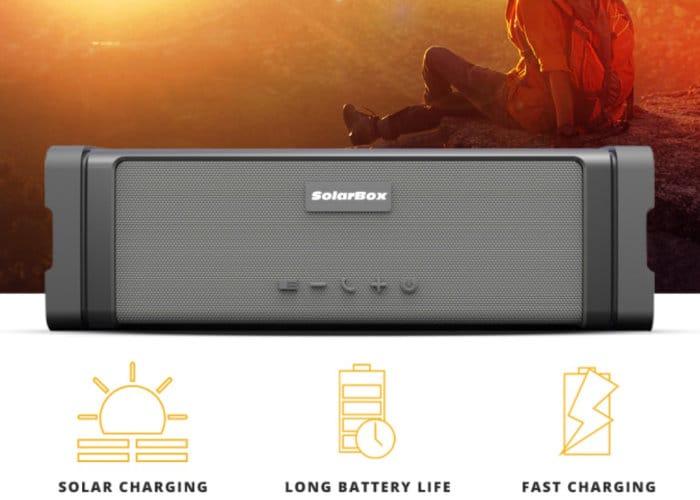 solar waterproof speaker
