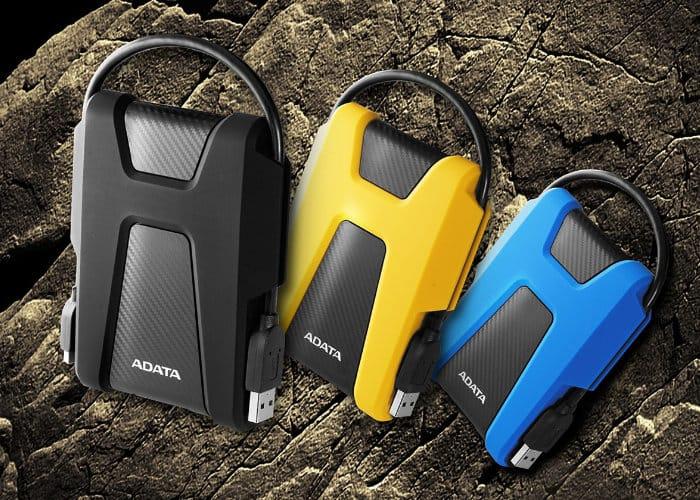 ADATA HD680 and HV320 portable external hard drives